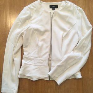 White business casual blazer